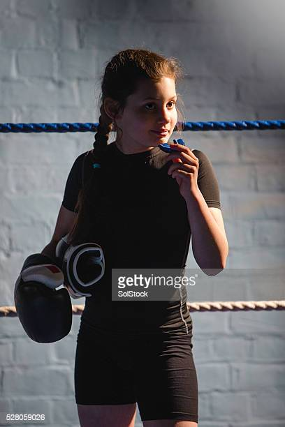 Young Female Fighter