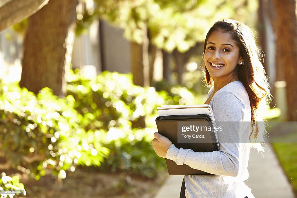 Young female student : Stock Photo
