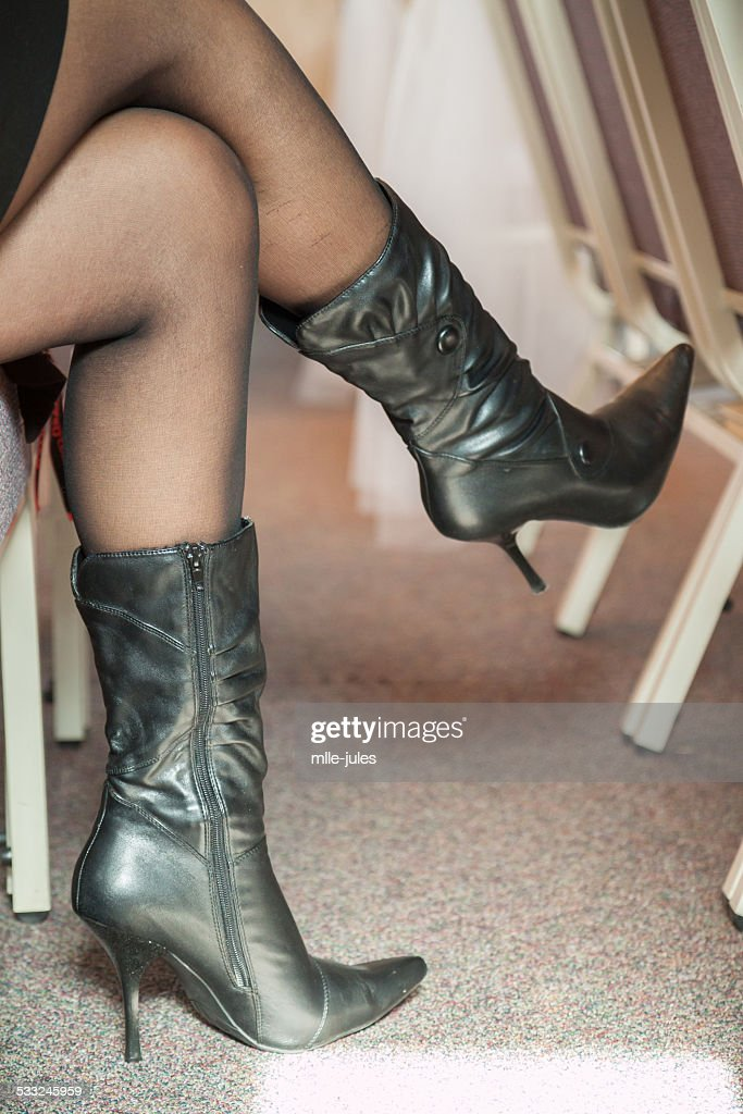 Women wearing sexy boots