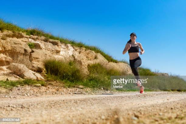 young fitness sports woman runner
