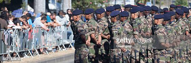 Young french soldiers