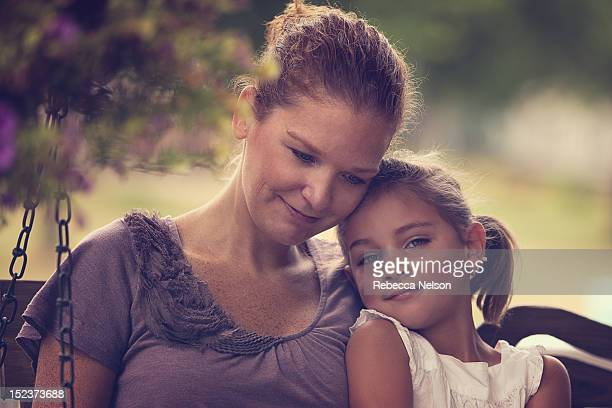 Young girl and her aunt