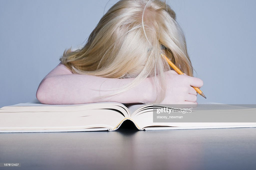Young Girl, Book, Educational Concept