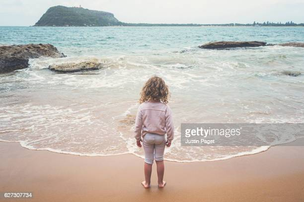 Young Girl by Water's Edge
