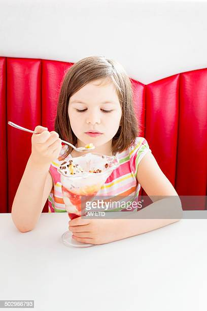 Child Licking Spoon Stock Photos And Pictures Getty Images