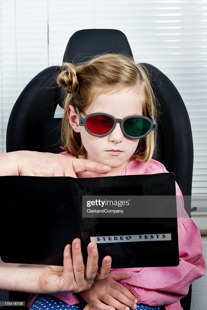 3D Vision Test : Stock Photo