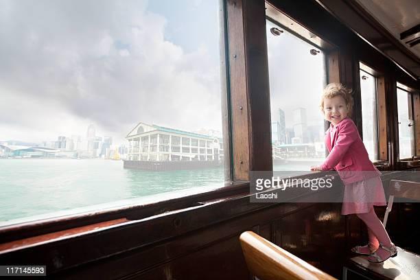 Young girl in HongKong