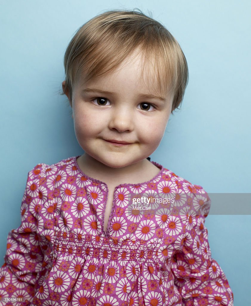 Young girl in studio : Stock Photo