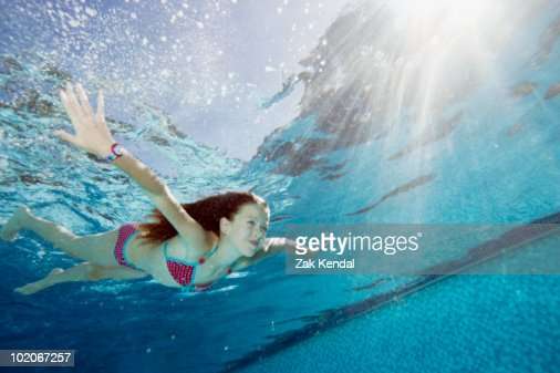 young girls swimming in piss