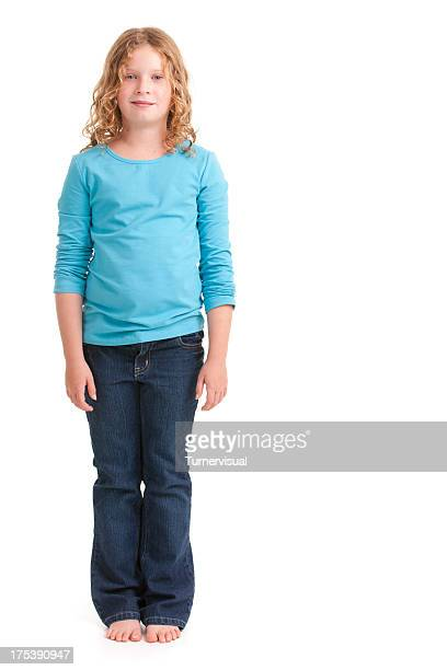 Young Girl Standing