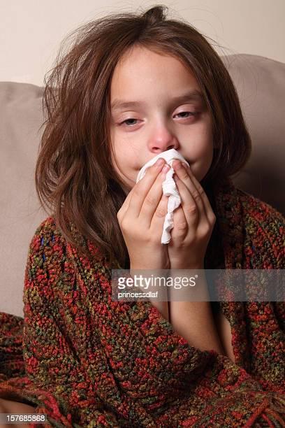 Kind mit kalten