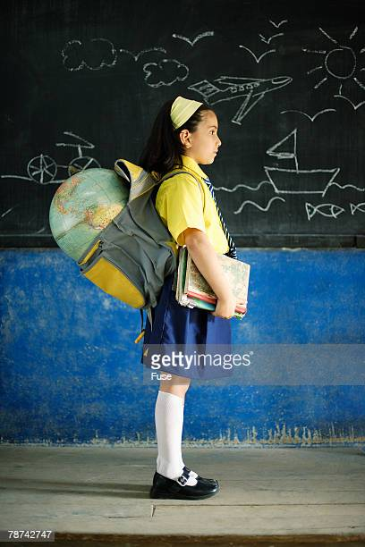 Young Girl with her Homework