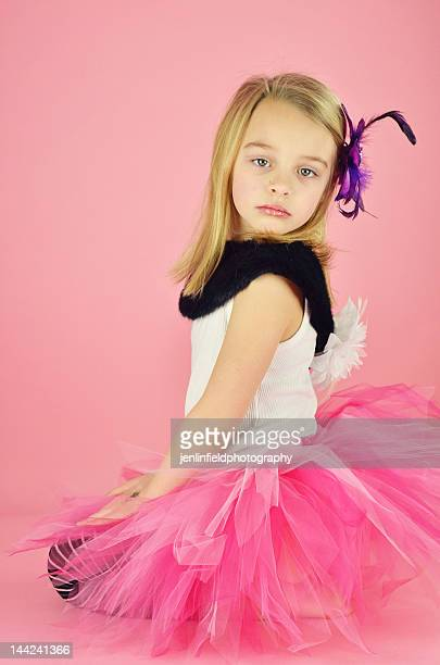Young girl with  tutu