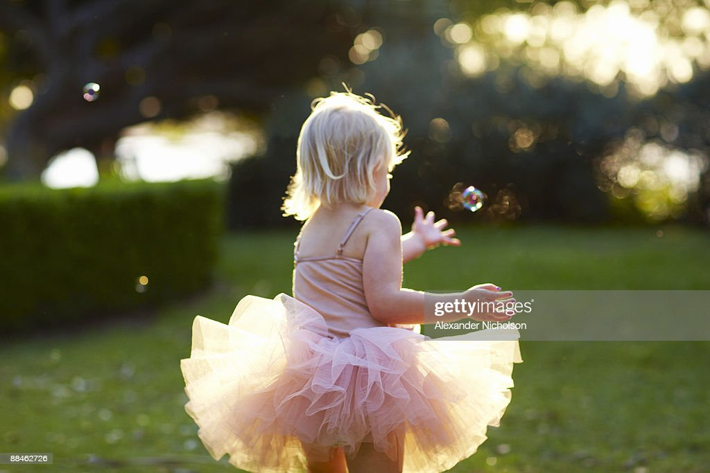 young girls in tutus