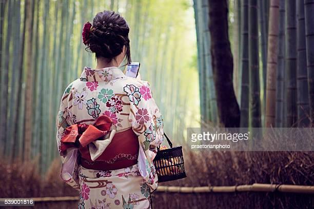 Junge Mädchen von Japan