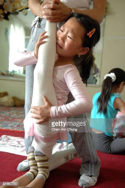 young russian circus girls