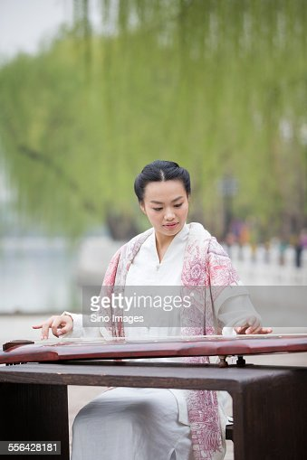 sichuan qin player Liu shui: flowing streams  according to xunzi, confucius said, whenever the gentleman sees a great stream he feels the necessity of contemplating it 4.