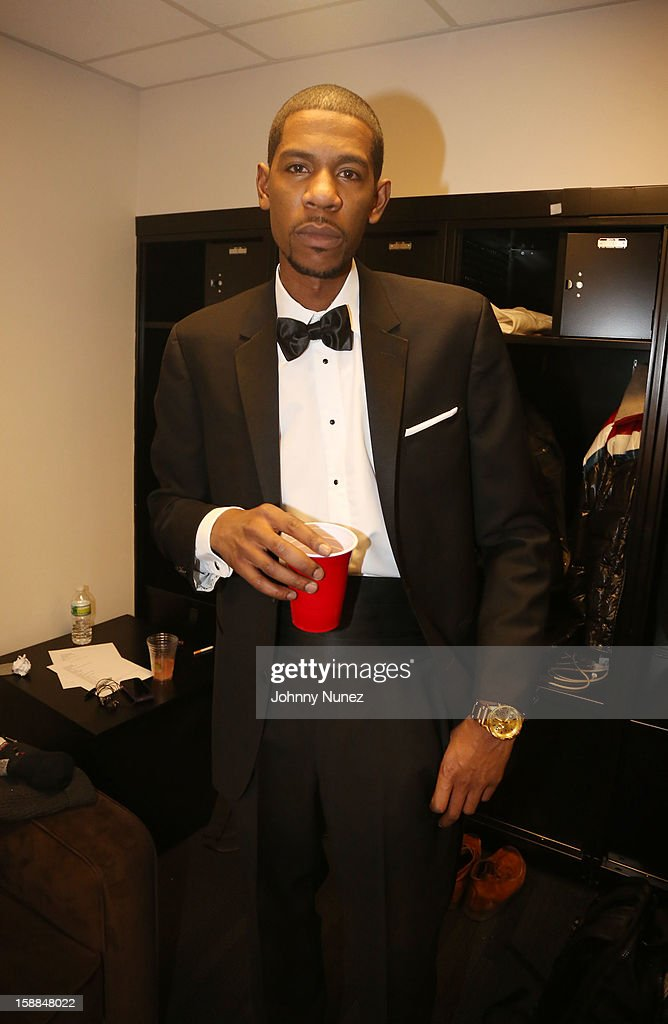 Young Guru attends the Barclays Center on December 31, 2012 in the Brooklyn borough of New York City.
