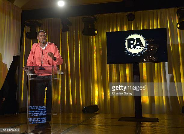 Young Guru cohosts The Pensado Awards at Fairmont Miramar Hotel on June 28 2014 in Santa Monica California