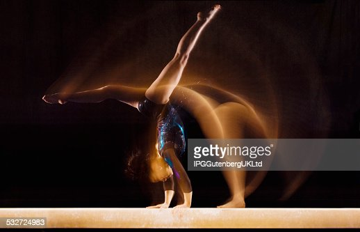 Young Gymnast : Stock Photo