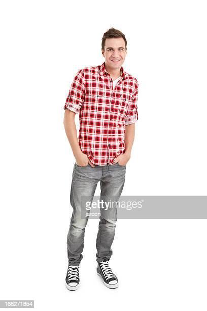 Junger gut aussehender Mann