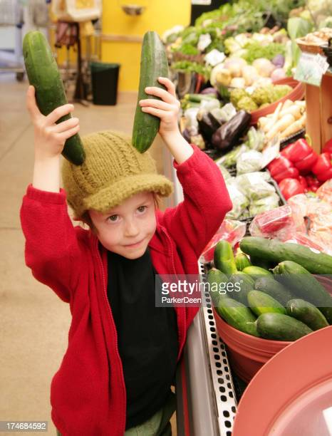 Young Healthy Shopper