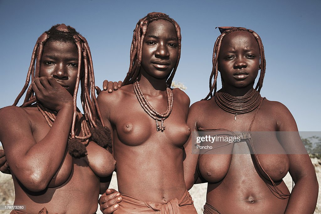 young Himba people : Stock Photo