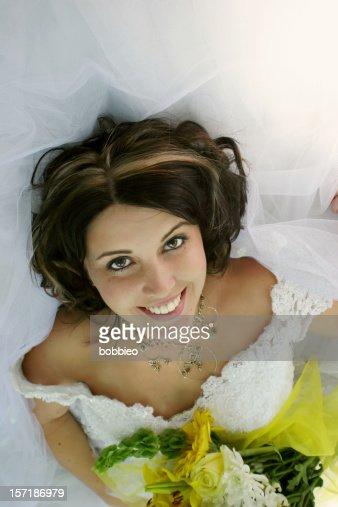 Young Hispanic Bride