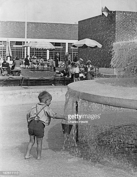 A young holidaymaker at a Butlin's holiday camp in Filey North Yorkshire 1946 Original Publication Picture Post 4136 Life In A Holiday Camp pub 13th...