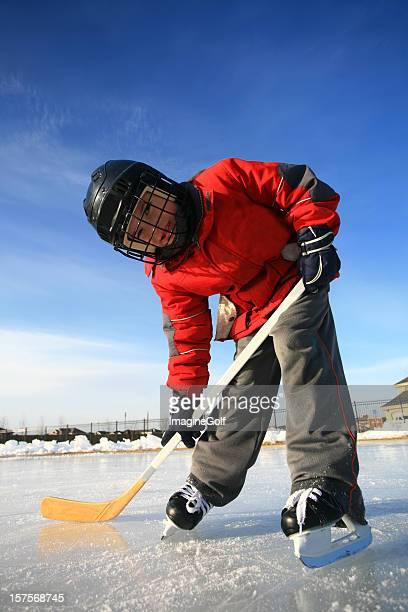 Young Ice Hockey Player