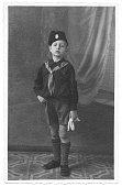 Young italian children fascist in 1934
