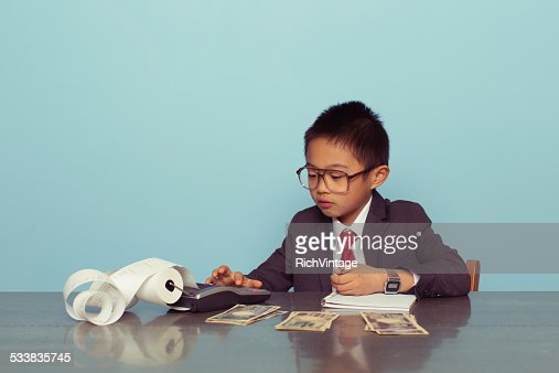 Young Japanese Accountant