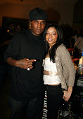 Young Jeezy and Megan Rochell during Young Jeezy Listening Party for His New Album 'The Inspiration' at Patch Work Studios in Atlanta Georgia United...