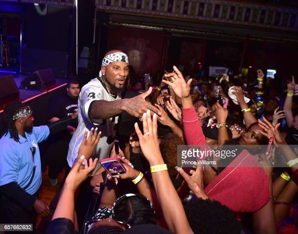 Young Jeezy attends Jeezy In Concert at The Tabernacle on March 22 2017 in Atlanta Georgia