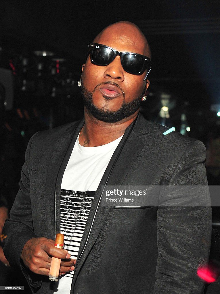 Young Jeezy attends party hosted by LaLa at Reign Nightclub on November 23, 2012 in Atlanta, Georgia.