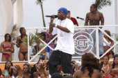 Young Jeezy during BET 'Spring Bling' Day Two March 24 2007 at Singer Island in West Palm Beach Florida United States