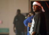 Young Jeezy during HOT 1079 Birthday Bash 10 at HiFi Buys Amphitheater in Atlanta Georgia United States