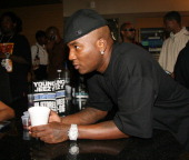 Young Jeezy during Young Jeezy Listening Party for His New Album 'The Inspiration' at Patch Work Studios in Atlanta Georgia United States