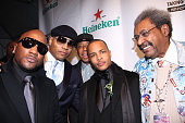Young Jeezy LL Cool J Russell Simmons TI and Don King attend the Hip Hop Summit Action Network Inaugural Ball at the Harman Center for the Arts on...