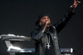 Young Jeezy performing at Jones Beach on Saturday night August 1 2009