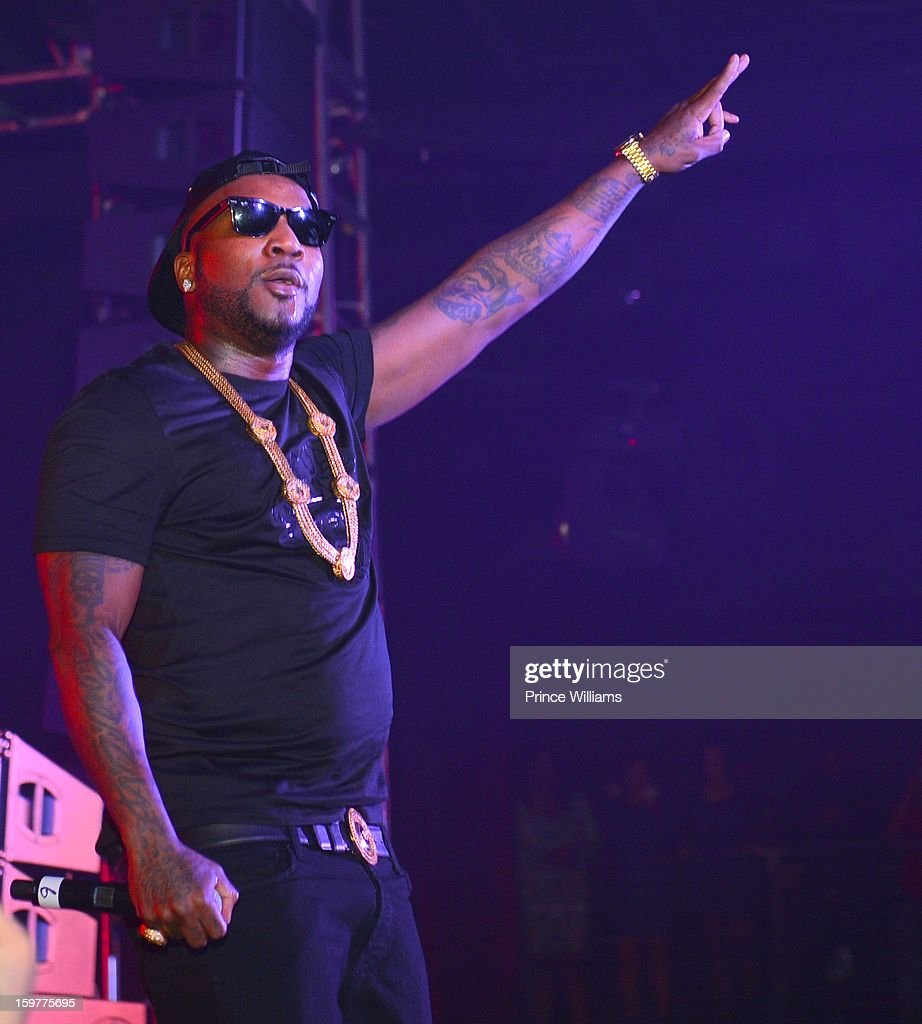 Young Jeezy performs at the AG Entertainment Presents Jeezy Inauguration Weekend on January 20, 2013 in Washington, United States.