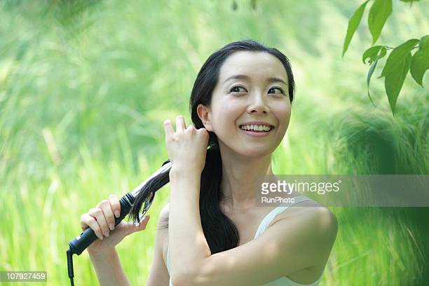 young Korean woman