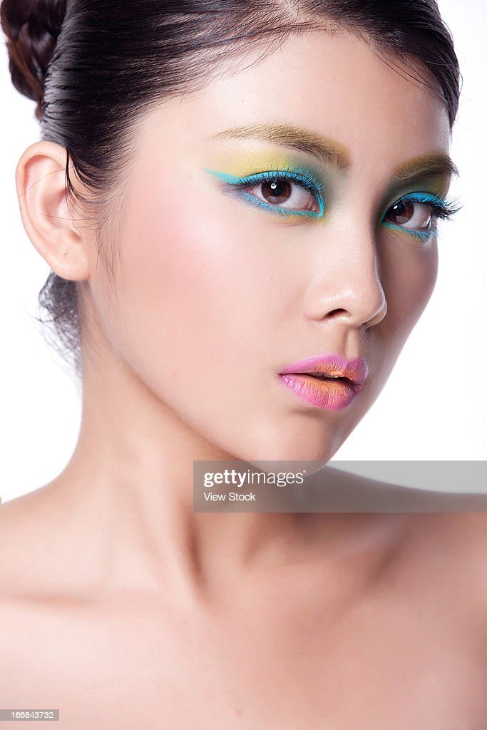 Young Lady Makeup Stock Photo