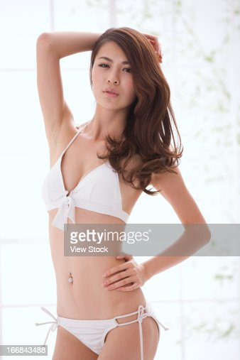 Asian In Bra Stock Photos And Pictures Getty Images