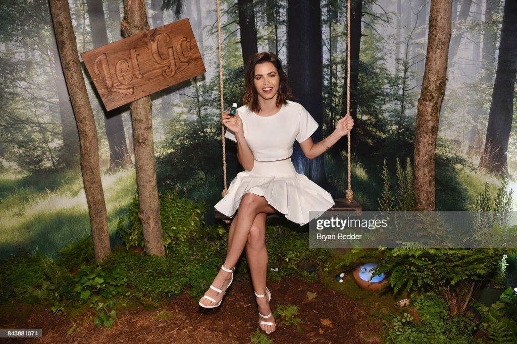 Young Living Essential Oils and Jenna Dewan Tatum, actress, dancer and avid Young Living Essential Oils fan, announce the brand's 'Scents Of Self' Spring 2018 limited edition Fashion Week essential oil collection on September 7, 2017 in New York City.