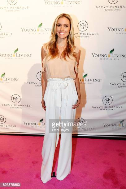 Young Living Essentials Oils and Kristin Cavallari wellknown designer author and entrepreneur announce the brand's new makeup line Savvy Minerals by...