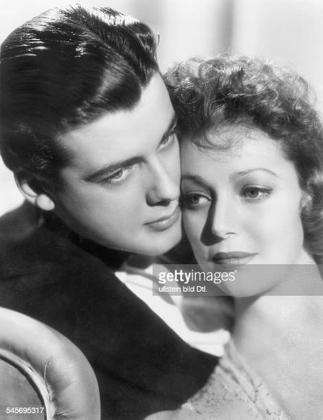 Young Loretta *Actress USAwith Richard Greene in the movie`Four men and a prayer` 1938Director John FordPhoto 20th Century Foxpublished by `12 Uhr`...