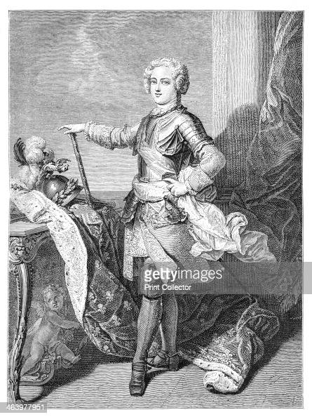 A Young Louis XV Louis was king of France from 1715 until his death