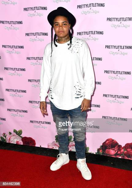 Young Ma attends PrettyLittleThing X Olivia Culpo Launch at Liaison Lounge on August 17 2017 in Los Angeles California