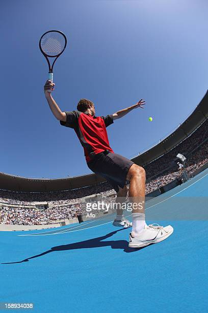 Young Male Tennis Player